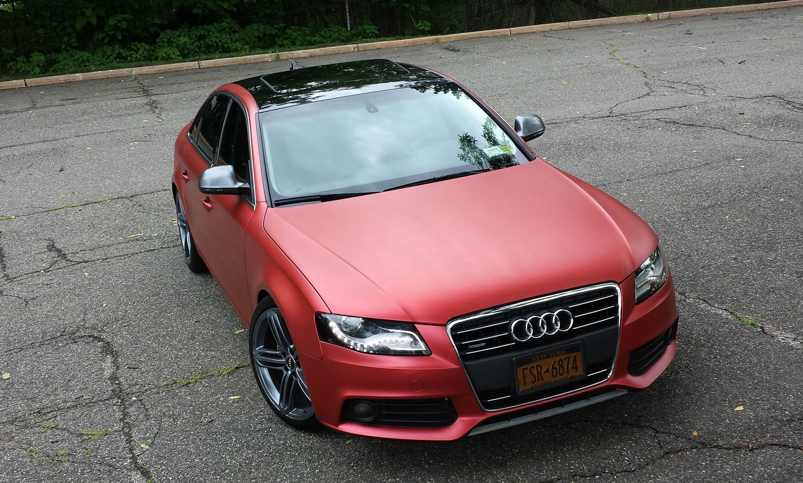 audi-b8-a4-custom-satin-metallic-red
